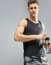 Mens Nike Breathe Training Tank Size Medium 834238-014
