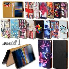 Leather Stand Wallet Cover Case For Sony Xperia 1 / 10 / 10+/ L3 SmartPhones