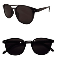 """Reading Sunglasses """"Sun Readers"""" with UV400 Protected Lenses in Cool Black Frame"""