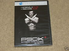 New (Sealed) BeachBody P90X+ Extreme Fitness Dvd - Interval X & Abs/Core Plus