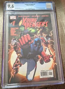 Young Avengers #1 CGC 9.6 1st Kate Bishop Iron Lad Hulkling, PRICE WILL GO UP!!!