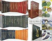 ROGER TORY PETERSON COMPLETE 50 VOL PLUS 3 OVERSIZED ART BOOKS - Easton Press -