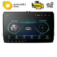 "9""Android 8.1 Car Radio For VW Passat Golf Polo Jetta Caddy Amarok Sharan Tiguan"