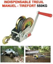 SPECIALE AERO ULM TIREFORT TREUIL MANUEL 550KG SUPER COMPACT INDISPENSABLE !