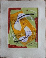 Bernard ALLIGAND - Aquagravure signée numérotée fortissimo musique etching **