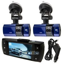 "2 x New 2.7"" Full HD 1080P Car DVR HDMI Camera Video Recorder Dash Cam G-Sensor"