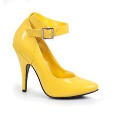 Yellow Pumps Drag Queen Mens Crossdresser Heels Shoes Large Womans Size 12 13 14