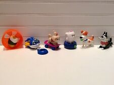 Secret Life Of Pets McDonalds Happy Meal Toys Lot Set Of 6
