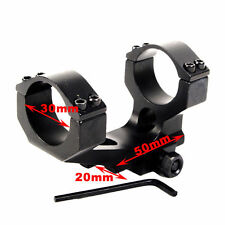 30mm Ring Scope Cantilever Rifle Scope Mount 20mm Picatinny Rail Accessories