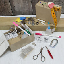 Hand or Machine Sewing Kit - 15 Essential Dressmaking Tailors Sewing Items