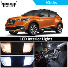 White LED Interior Lights Accessories Replacement Kit fits 2018 Nissan Kicks