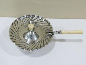 Rare Antique 1800's Gorham Sterling Silver Tea Strainer, 93.7 grams