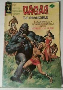 DAGAR THE INVINCIBLE NO. 12 - GOLD KEY COMICS - JULY 1975