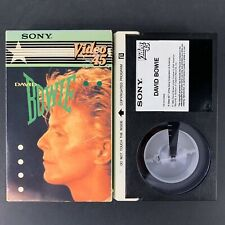 David Bowie - Sony Beta Betamax - Video 45 - Music Videos