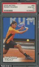 2003 Netpro Tennis #90 Roger Federer PSA 10 GEM MINT