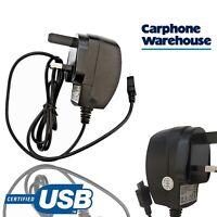 Carphone Warehouse Micro USB Mains Charger 1 Amp 1.2M Cable Universal Wall Plug