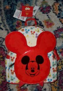 NEW Disney Parks Loungefly Mickey Balloon Popcorn Bucket Mini Backpack Scented