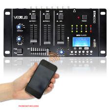 Vexus 172.990 Bluetooth Audio DJ Mixer 4 Channels