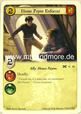 A Game of Thrones LCG - 1x House Payne Enforcer  #083 - Mask of the Archmaester