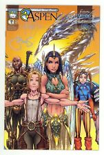 Aspen (2003) #2 Signed By Michael Turner Peter Steigerwald Frank Mastromauro NM
