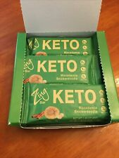 Zing Keto Bar Macadamia Snickerdoodle Box Of 12 - Best By Jan. 2022 😋😎
