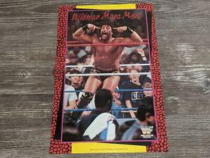 "WILDMAN MARC MERO WWF Magazine Wrestling Poster 16"" x 11"" Johnny B Badd RARE"