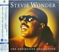 STEVIE WONDER-THE DEFINITIVE COLLECTION-JAPAN UHQCD Ltd/Ed G35