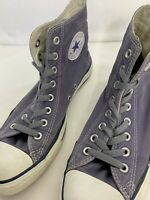 Converse Chuck Taylor All Star High Tops Gray Womens 8.5 Canvas Casual
