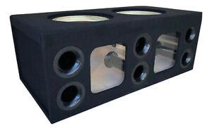 """Custom Ported Sub Enclosure Box for 2 15"""" Skar Audio ZVX-15 ZVX Subs ~BIRCH~"""