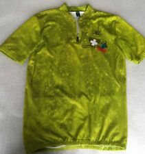 Giordana Caratti mens cycling vest jersey,S chest 38 40,bright green