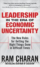 LEADERSHIP IN THE ERA OF ECONOMIC UNCERTAINTY BY RAM CHARAN NEW BOOK FREE SHIP