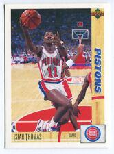1993 Upper Deck French McDonald's #37 Isiah Thomas Pistons carte NBA Basketball