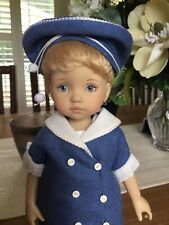 "Boneka 10"" 2005 Tuesday's Child Doll by Dianna Effner With  Outfit And Wig"