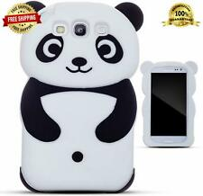 Cell Phone Black Silicone Panda Case Cover Shell Samsung Galaxy S3 i9300 S III