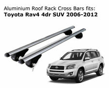 Aluminium Roof Rack Cross Bars fits Toyota RAV4 with existing rails 2006-2012