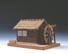 Woody JOE Wooden Building Mini Model Kit No.2 Water Mill Razor Cut Parts