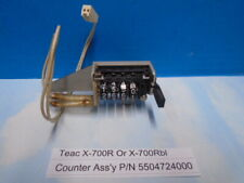 Teac X-700R 700Rbl Reel To Reel Counter assembly A Used