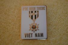 US USA Vietnam Veteran I've Been There Military Hat Lapel Pin