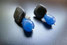 Saphir Mode-Ohrschmuck aus Stein