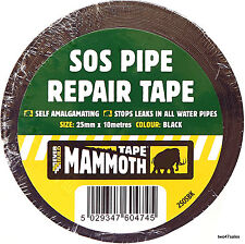 Pipe Repair Tape Stop Water Leak burst plumbers tap waterproof sos amalgamating