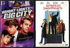 Bright Lights, Big City (DVD, 2003) & America's Sweethearts (DVD, 2001) - 2 DVDs