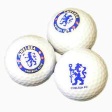Chelsea Fc Balles de Golf Avec Logo Crest 3 Dans Ensemble Supporters Golf Accessoire