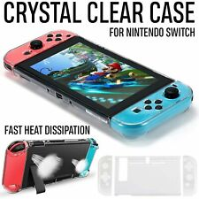 Shockproof Transparent Protective Hard Clear Case Cover For Nintendo Switch UK