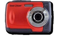 "ION Cool-iCam 8MP S1000 Waterproof Digital Camera 2.4"" Screen RED"