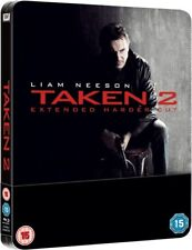 TAKEN 2 Extended Cut Limited Edition Steelbook Bluray UK Exclusive Region B NEW