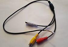 Cavo 4 pin per (visione notturna HD CCTV a colori 600tvl 1/3 fotocamera CMOS)
