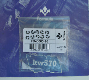 Formula - 10 Steel seeger Formula x screw pads x Cura/Cura 4/Cura4 FD40083-10
