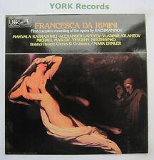 ASD 3490 - RACHMANINOV - Francesca Da Rimini KASRASHVILI LAPTYEV - Ex LP Record