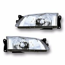 Fits 00-02 Mazda 626 Driver + Passenger Side Headlight Lamp Assembly 1 Pair
