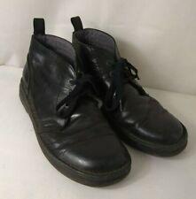DR MARTENS Men's shoes black leather lace up ankle boot design UK size 11